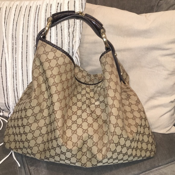 dacdf6477392 Gucci Bags | Authentic Horsebit Hobo Bag | Poshmark